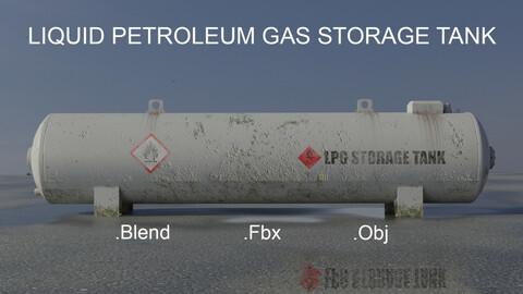 Industrial LPG Storage Tank