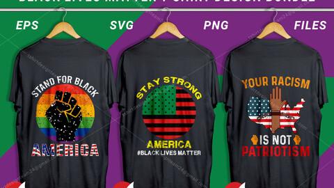 Black Lives Matter T Shirt Design Bundle
