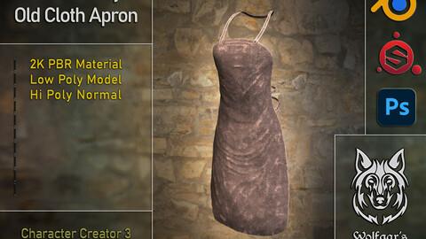 Medieval Cloth Apron