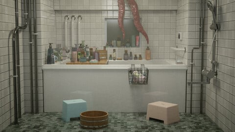 blender bathroom
