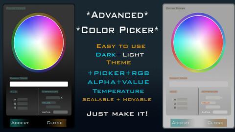 ColorPicker Widget