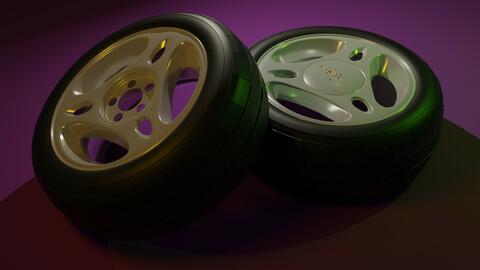 3D Model-Wheels 2000 Mustang