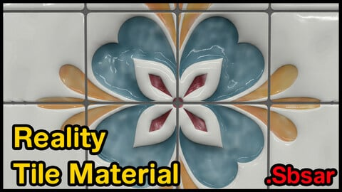 Reality Tile Material / v32 / .sbsar