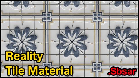 Reality Tile Material / v33 / .sbsar