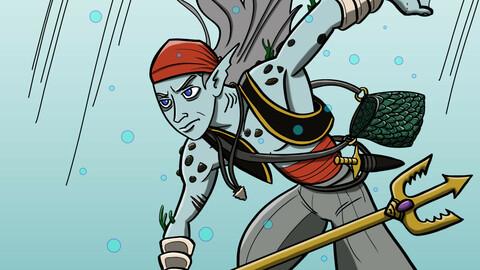 RPG barbarian characters