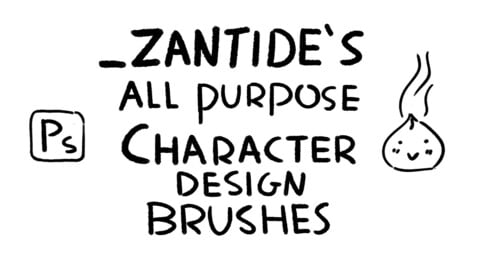 (Photoshop) All-Purpose Character Design Brushes