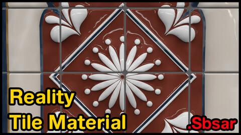 Reality Tile Material / v34 / .sbsar