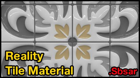 Reality Tile Material / v35 / .sbsar