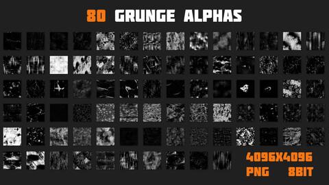 80 GRUNGE ALPHAS