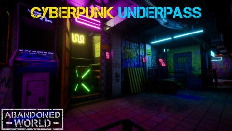 CyberPunk Underpass For UE4