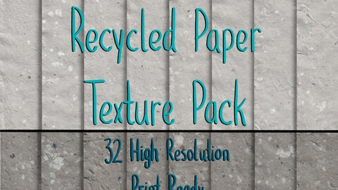 Recycled Paper Texture Pack