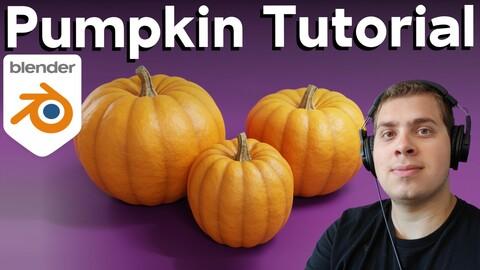 How to make Pumpkins in Blender (Tutorial)