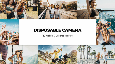 20 Disposable Camera LUTs and Lightroom Presets