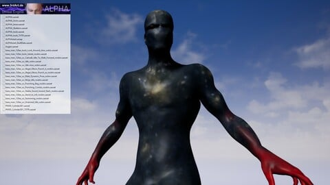 ALPHA - Unreal Engine game character