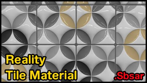 Reality Tile Material / v36 / .sbsar