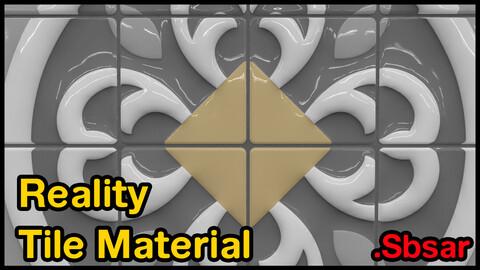 Reality Tile Material / v37 / .sbsar