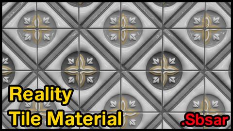 Reality Tile Material / v38 / .sbsar