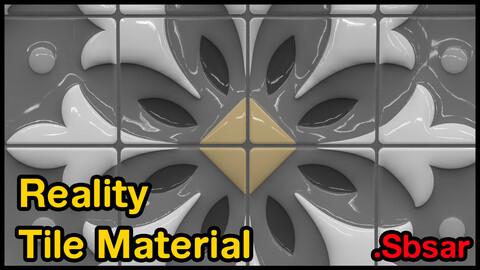 Reality Tile Material / v39 / .sbsar