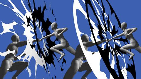 Clip studio paint 3D effect model pack _ ALL