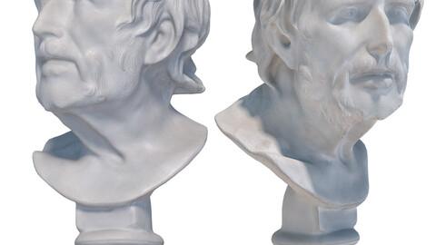 Sculpture of Seneca 122