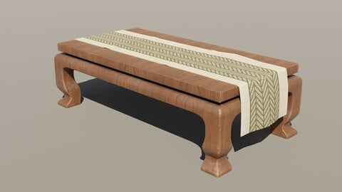Japanese Table 5 - Tablecloth