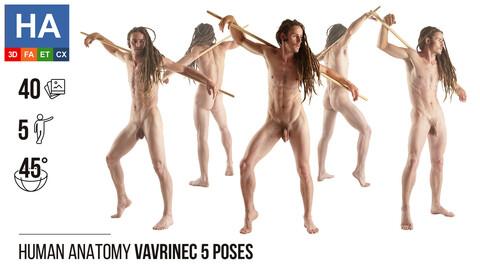 Human Anatomy | Vavrinec 5 Various Poses | 40 Photos
