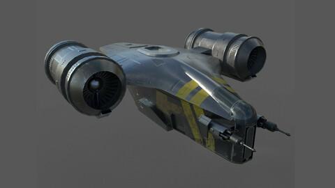 Mandalorian spaceship