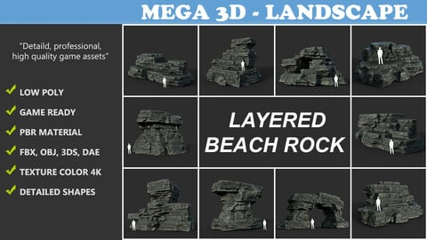 Layered Rock Collection 210120