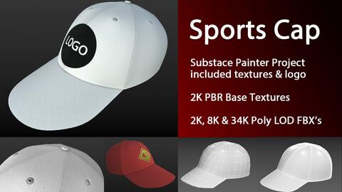 Sports Cap/Hat & Logo