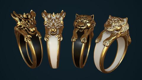 Ring Dragon Tiger