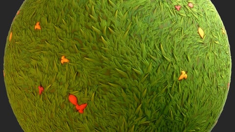 Stylized Grass Material