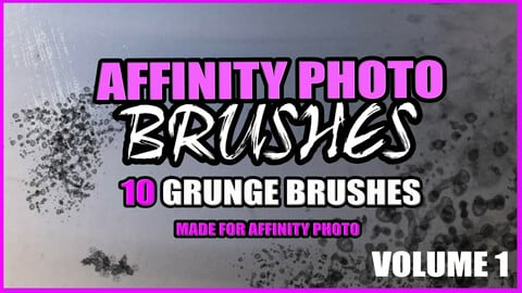 AFFINITY PHOTO GRUNGE BRUSHES Vol 1