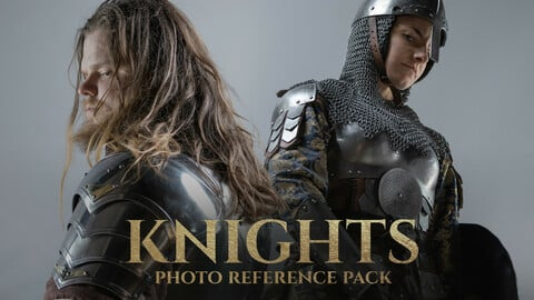 Knights Photo Reference Pack 240 JPEGs