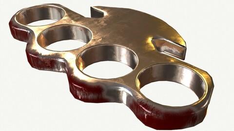 Metal Punch Ring