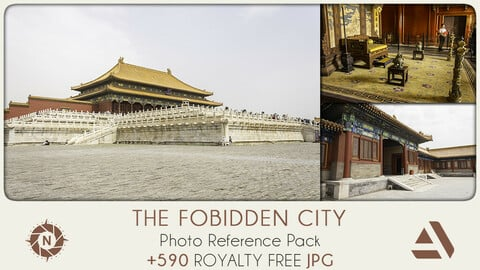 Photo Reference Pack: CHINA The Forbidden City