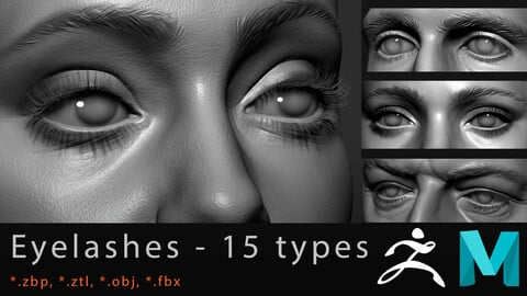 Eyelashes Big Pack