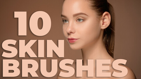 Skin Brushes for Photoshop