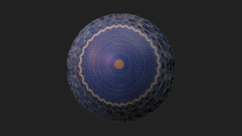 Shah Mosque - Substance Designer Material