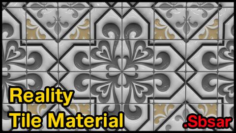 Reality Tile Material / v40 / .sbsar