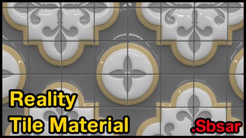 Reality Tile Material / v41 / .sbsar