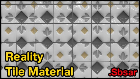 Reality Tile Material / v42 / .sbsar