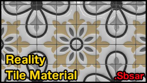 Reality Tile Material / v43 / .sbsar
