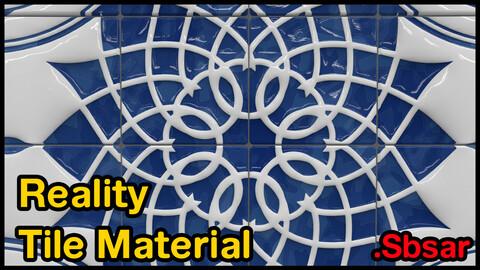 Reality Tile Material / v44 / .sbsar