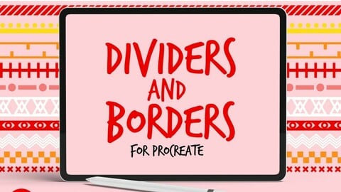 Dividers and Borders Procreate Brushes