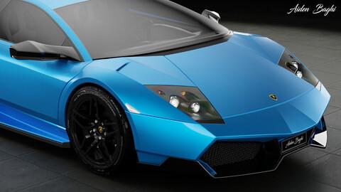 Lamborghini Mucielago SV LP670-4