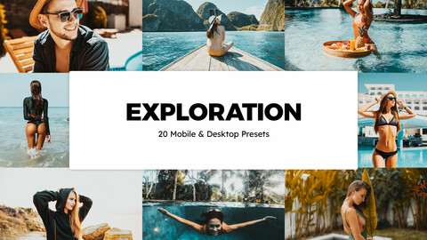 20 Exploration LUTs and Lightroom Presets