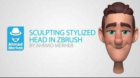 Stylized Head Sculpting Tutorial in Zbrush