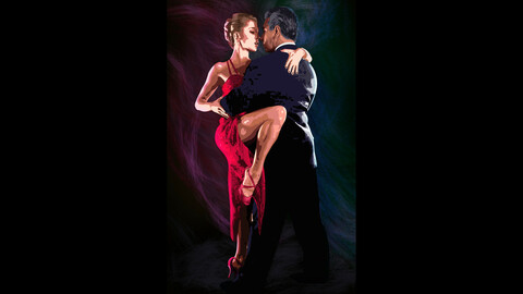 Classical tango for men and women.
