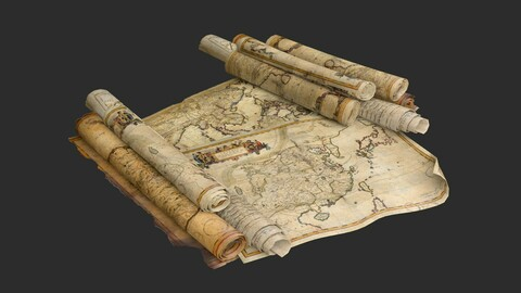Old Asian Maps