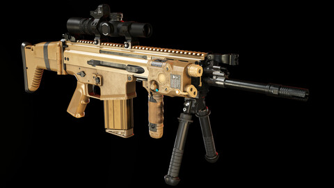 Scar-H with Attachments